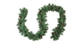 Image of a 12' Decorated Garland