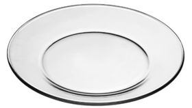 Image of a Glass Salad Plate