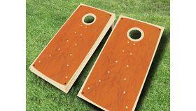 Image of a Classic Wood Cornhole