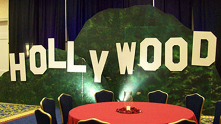 hollywood set hollywood theme party