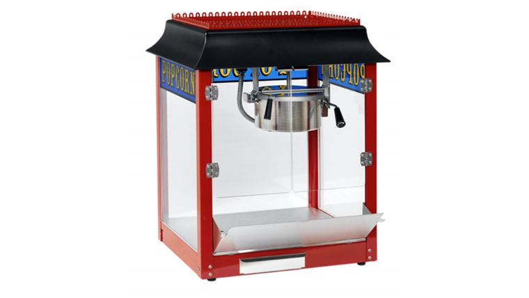 popcorn machine hollywood theme party