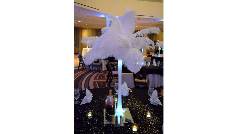 centerpiece hollywood theme party
