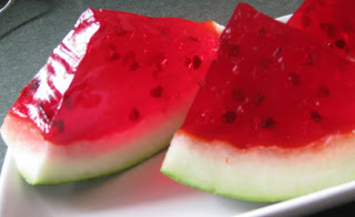 backyard bbq ideas. watermelon jello shots. https://blog.goodshuffle.com