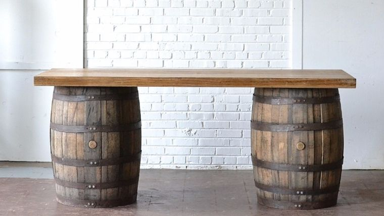 barrel bars. wedding event rentals. goodshuffle