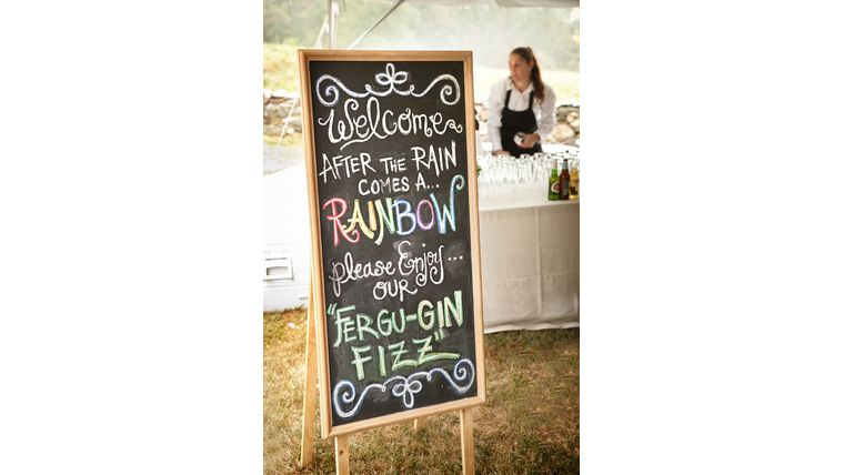 chalkboard signs. weddings. personalized event rentals. goodshuffle