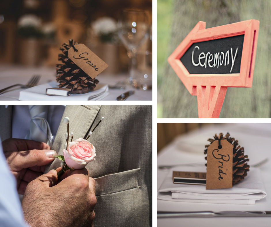 Wedding decor. DIY bride. Table numbers. Signage. Goodshuffle