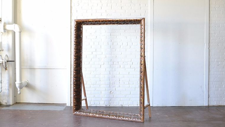 oversized frame. Goodshuffle.com. Paisley and Jade. Unique Event Rentals. Richmond, Virginia.