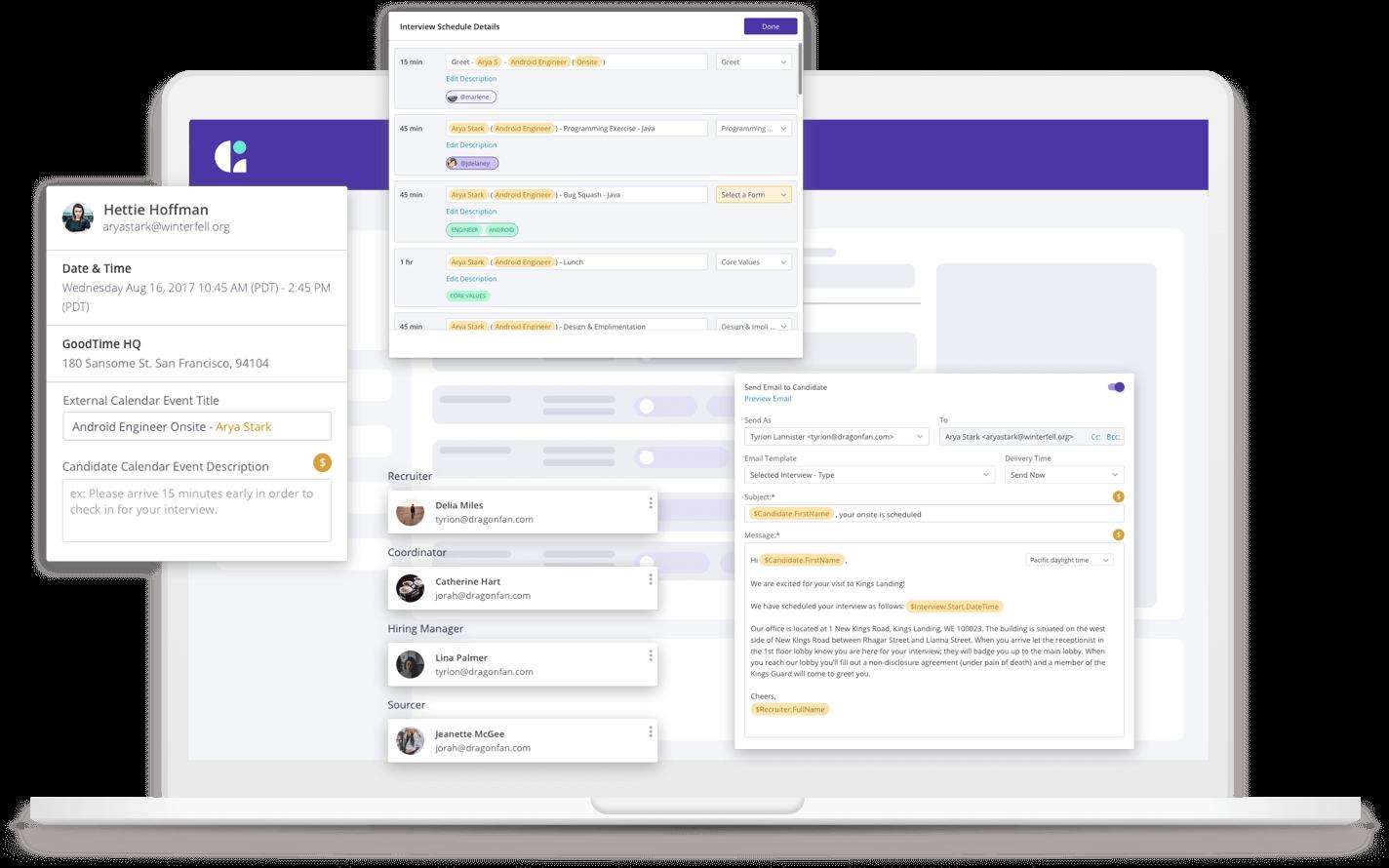 automated interview scheduling platform