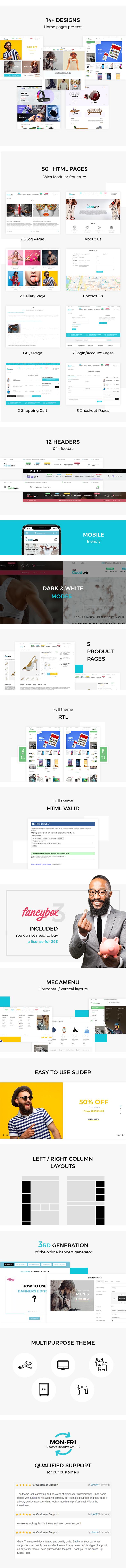 Goodini - eCommerce HTML Template