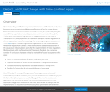 Depict Land-Use Change with Time-Enable Apps