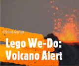 Dynamic Earth: Volcano Alert with Lego We-Do