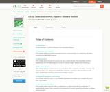 Algebra 1 - TI Activities (Student's Edition)