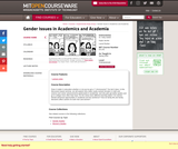 Gender Issues in Academics and Academia, Spring 2004