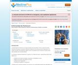 Parkinson's Disease (Spanish)