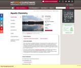 Aquatic Chemistry, Fall 2005
