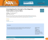 Investigating the Strength of the Magnetic Field within a Coil of Wire