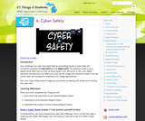 21 Things 4 Students: Thing 6 - Cyber Safety
