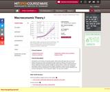 Macroeconomic Theory I, Spring 2007
