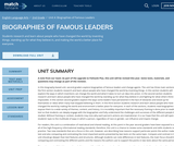Biographies of Famous Leaders