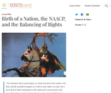 Birth of a Nation, the NAACP, and the Balancing of Rights