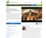 Mexico's Economy: Current Prospects and History