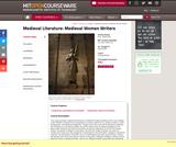Medieval Literature: Medieval Women Writers, Spring 2004