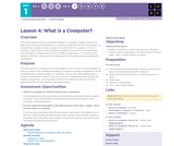 CS Discoveries 2019-2020: Problem Solving Lesson 1.4: What is a Computer?