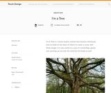 Teach Design: I'm A Tree