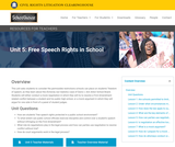 Free Speech Rights in School – The Civil Rights Litigation Schoolhouse