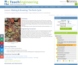 Making & Breaking: The Rock Cycle