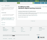 K-5 MITech & ISTE standards aligned teaching resources