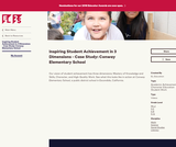 Inspiring Student Achievement in 3 Dimensions - Case Study: Conway Elementary School