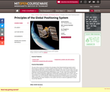 Principles of the Global Positioning System, Spring 2012