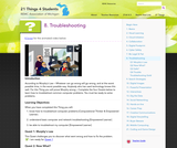 21 Things 4 Students: Thing 8 - Troubleshooting