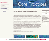 CP 20: Teaching English Language Learners