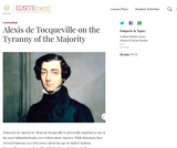 Alexis de Tocqueville on the Tyranny of the Majority