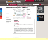 Air Transportation Systems Architecting, Spring 2004
