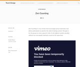 Teach Design: Zen Counting