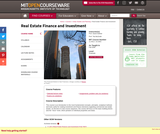 Real Estate Finance and Investment, Fall 2006