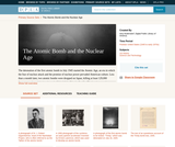 The Atomic Bomb and the Nuclear Age