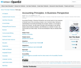 Accounting Principles: A Business Perspective