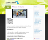 21 Things 4 Students: Thing 9 - Search Strategies