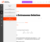 A-REI An Extraneous Solution