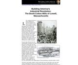 Building America's Industrial Revolution: The Boott Cotton Mills of Lowell, Massachusetts