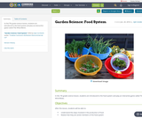 Garden Science: Food System