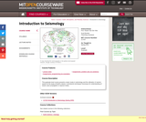 Introduction to Seismology, Spring 2010