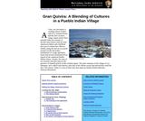 Gran Quivira: A Blending of Cultures in a Pueblo Indian Village