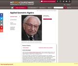 Applied Geometric Algebra, Spring 2009