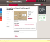 Introduction to Financial and Managerial Accounting, Spring 2004