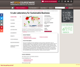S-Lab: Laboratory for Sustainable Business, Spring 2008